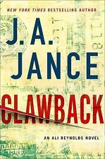 Ali Reynolds: Clawback-  Book 11 by J. A. Jance (2016, Hardcover)  Mystery