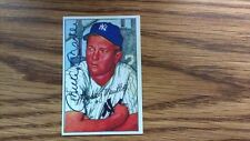 1952 BOWMAN MICKEY MANTLE RARE REPRINT BASEBALL CARD