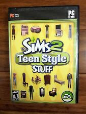 The Sims 2: Teen Style Stuff (PC, 2008) fast free shipping