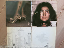 YOKO ONO - FLY  2  LP  Apple SVBB 3380  US  with both printed inner-jackets  FOC