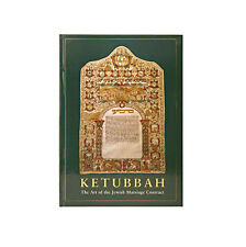 "Jewish Hard Cover Book, ""Ketubbah, the Art of the Jewish Marriage Contract"" *"