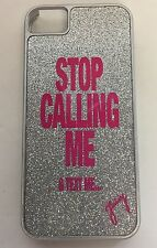 "Juicy Couture iPhone 4/4s Case ""STOP CALLING MR & TEXT ME.."" (cover bling pink)"