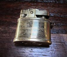 "Vintage Lighter MINI Lighter Gold in Color 1.25"" X 1.25"" Ring to Attach to Chain"