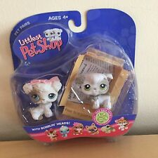 Littlest Pet Shop LPS PET PAIRS POODLE DOGS #203 #204 NEW IN PACKAGE NIB