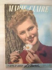 Magazine Marie-Claire French n81 16 Septembre 1938 Collection Vintage Fashion