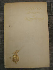 ALICE'S ADVENTURES IN WONDERLAND BY LEWIS CARROLL 1901 ILLUSTRATED