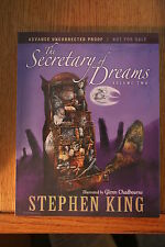 STEPHEN KING SECRETARY OF DREAMS VOL 2 ADVANCE UNCORRECTED PROOF