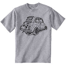 FIAT ABARTH 500 INSPIRED - NEW AMAZING GRAPHIC TSHIRT S-M-L-XL-XXL