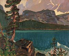 Group of Seven J.E.H. MacDonald Lake O'Hara, c. 1930 Oil Painting repro