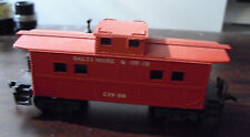 Vintage 1970s HO Scale Red Baltimore & Ohio B&O C1900 Caboose Car
