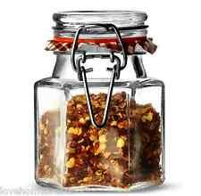 12 Kilner esagonale in vetro Clip Top ERMETICA Spice Erbe Conservazione marmellata 90ml barattoli NUOVO