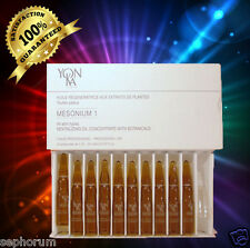 Yonka Mesonium 1 Revitalizing Oil 20 ampoules of 2ml/0.07 oz. Salon Size