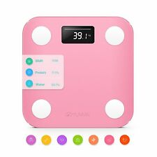 YUNMAI Mini Smart Body Fat Analyser Scale Bluetooth Bathroom BMI Weighing Scales