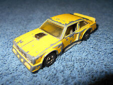 1978 HOT WHEELS FLAT OUT 442 YELLOW 1:64 DIECAST REDLINE - MADE IN HONG KONG