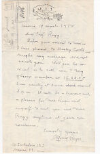 MEXICAN WRITER - Praised by Borges - ALFONSO REYES 1950 Autograph Letter Signed