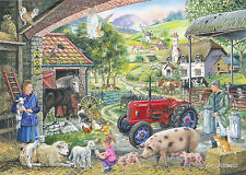 The House Of Puzzles 1000 PIECE JIGSAW PUZZLE - On The Farm Find The Differences