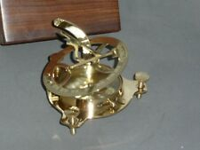 SUNDIAL/COMPASS   with WOODEN BOX