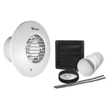 Xpelair Simply Silent DX100TR Timer Round Extractor Fan 93006AW With Wall Kit
