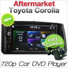 Car DVD USB Player Radio For Toyota Corolla 2002-2008 E120 E130 Stereo MP3 CD ET