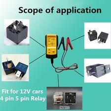 Sealey AE100 Automotive Relay Tester Test Jumper Kit HOW TO TEST RELAYS for 13V