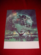 1964 1965 WORLDS FAIR PORTFOLIO BROCHURE HOLDER NEW10X13 US STEEL MADE IN 1961