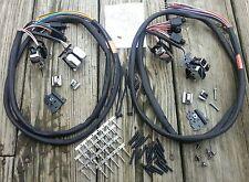 Handlebar Wiring Kit Chrome Switches 1996-2006 Harley Touring Radio and Cruise