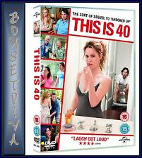 THIS IS 40 - Paul Rudd & Leslie Mann**BRAND NEW DVD**