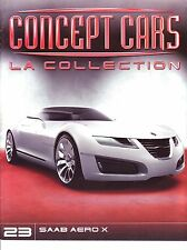 CAHIER AUTOMOBILE Concept cars SAAB AERO X      15 pages