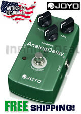 New Joyo JF-33 Analog Delay Electric Guitar Effects Pedal True Bypass US Dealer