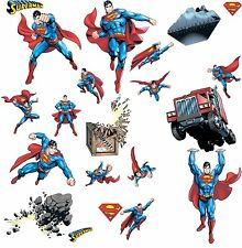 Roommates DC Superman Day of Doom Peel and Stick Wall Decal Appliques