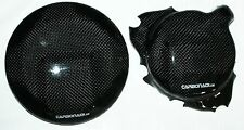 KTM 690 DUKE SMC ENDURO 08-16 2x CARBON FRIZIONE COPERCHIO Lima Coperchio Engine Cover