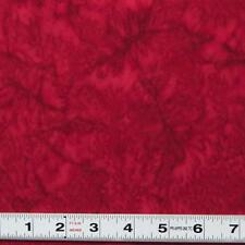 BALI BATIK - RED - #ABS026 - Patchwork Fabric by the ½ metre