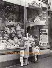 Rare Vintage (( Doll Hospital Photo )) Store Front Barbie, Porcelain, Doll House