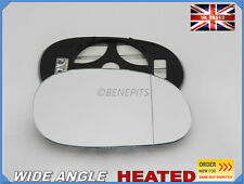 Wing Mirror Glass RENAULT LAGUNA 1993-2001 Wide Angle HEATED Right Side #H008