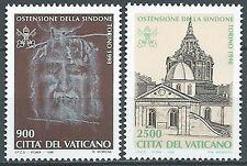 1998 VATICANO OSTENSIONE SINDONE MNH ** - ED