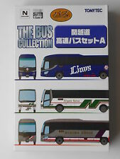 1/150 N scale TOMYTEC THE BUS COLLECTION - KAN-ETSU EXPRESSWAY bus set A