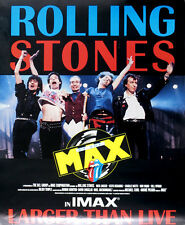 Rolling Stones 1991 Live At The Max Concert IMAX Movie Poster