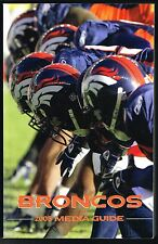 2005 Denver Broncos NFL Football Media GUIDE