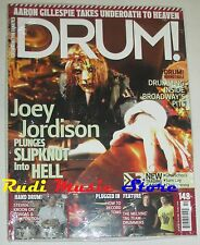 DRUM Magazine SEALED Ott 2008 Joey Jordison Steven Kroon The Melvin's * No cd