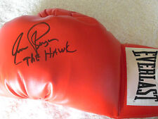 AARON PRYOR SIGNED QUALITY EVERLAST BOXING GLOVE JSA WITNESSED COA