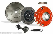 CLUTCH WITH UPGRADE SOLID FW KIT BAHNHOF STAGE 1 FOR 04-07 FORD FOCUS 2.3L