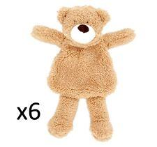 6 x GOOD BOY UNFILLED RAGGY BEAR DOG TOY soft plush puppy Cuddle STUFFED HEAD