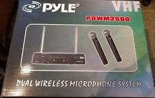 PylePro PDWM2500 Dual VHF Wireless Microphone System Discount!
