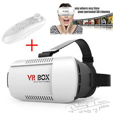VR BOX 2nd Generation Virtual Reality 3D Glasses Cardboard+Bluetooth Control