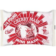 Lot of Two 12 oz, Pkg, Chase CHERRY MASH MINI MASH CANDY BARS, FREE USA SHIPPING