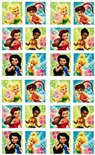 4 Sheets Disney Fairies Fairy Tinkerbell Scrapbook Stickers