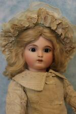 20 inch Antique French Joanny Doll mark J2 Fine Clothes 8 Ball Joint Body Ca1880