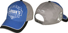 Jimmie Johnson Checkered Flag Sports #48 Lowe's Fan Up Hat FREE SHIP!