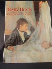Baby Book Childhood Memories A Parents Record weight midwife sleeping toys &1sts