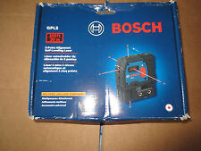 Bosch GPL5 5-Point Alignment Laser Level NEW open box Self-Leveling manual